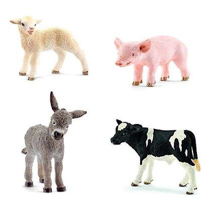 Набор Животные фермы, детёныши