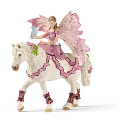Фейя на лошади