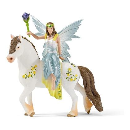 Эйла на лошади