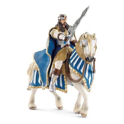 Король Грифона на лошади