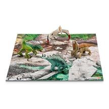 Мини-динозавры и пазл Лавовые поля
