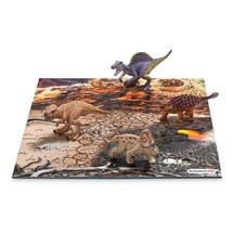 Мини-динозавры и пазл Исследование