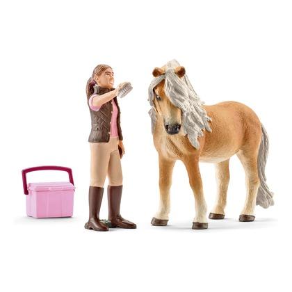 Набор Исландский пони и конюх