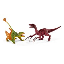 Диморфодон и Теризинозавр, малые