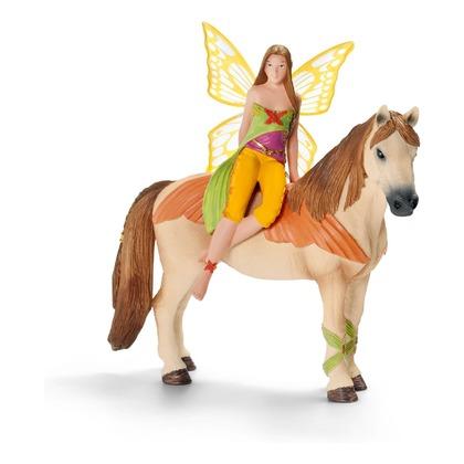 Саньила на лошади