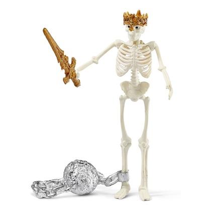 Скелет с сокровищами