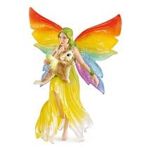 Радужная эльфийка Мина с летающей белкой