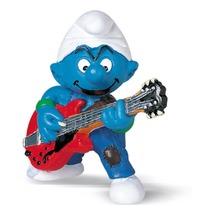 Смурфик с гитарой