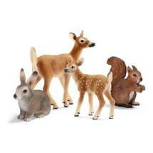 Детеныши лесных животных