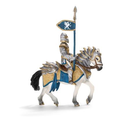Рыцарь Грифона с копьем на коне