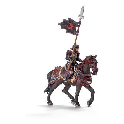Рыцарь Дракона с копьем на коне