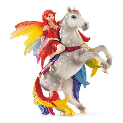 Эльфийка Амизи на лошади