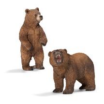 Пара медведей гризли