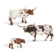 Коровы породы Техасский лонгхорн
