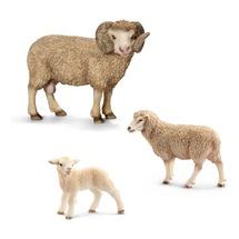 Баран, овца и ягнёнок