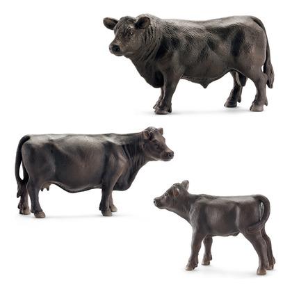 Коровы породы Абердин-Ангус