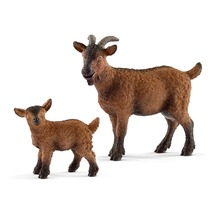 Коза с козлёнком