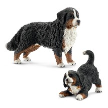 Бернский Зенненхунд со щенком