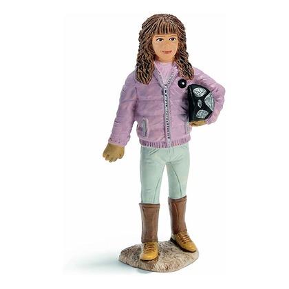 Девочка-жокей в куртке