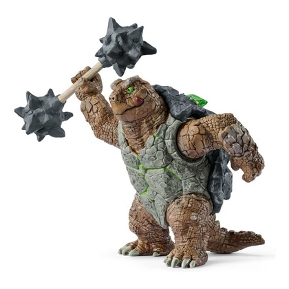 Черепаха в броне с оружием