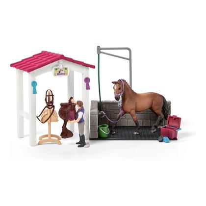 Набор для мойки лошадей со стойлом