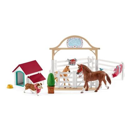 Лошади для гостей Ханны с собакой Руби