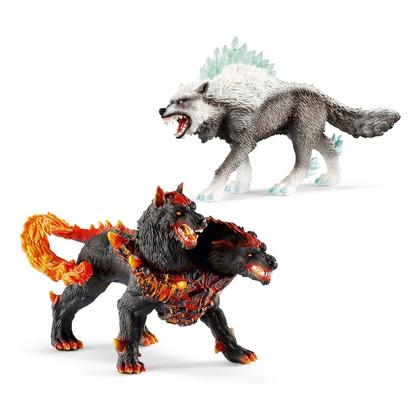 Набор Адский пёс и Снежный волк