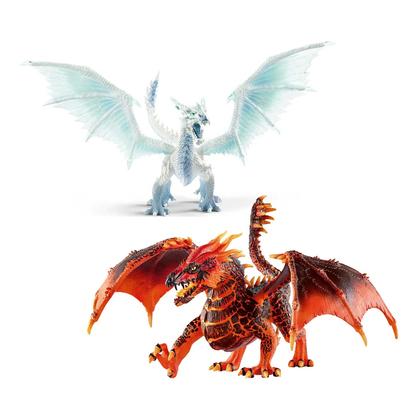 Набор драконов Лед и Лава