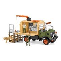 Большой ветеринарный спасательный грузовик