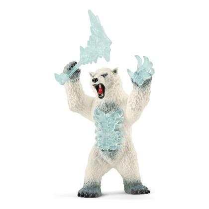 Снежный медведь с оружием