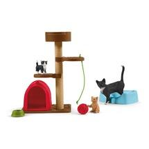 Игровой комплекс с кошкой и котятами