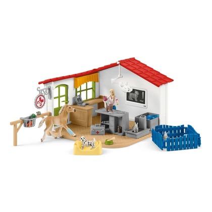 Ветеринарная клиника с животными