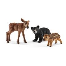 Лесные животные, детёныши (уценка)
