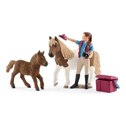 Конюх с шотладским пони (уценка)