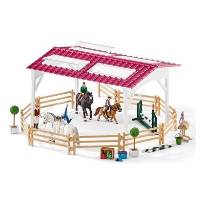 Школа верховой езды с лошадьми и наездниками (уценка)
