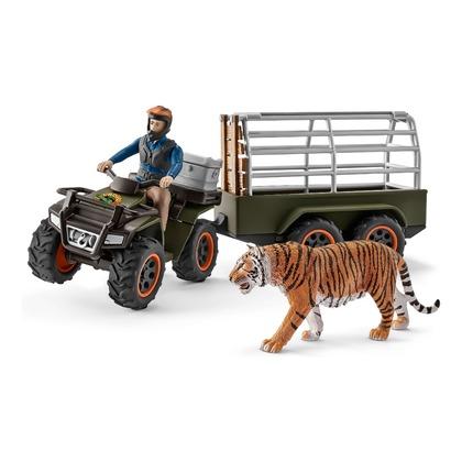 Квадроцикл с прицепом для перевозки животных (уценка)