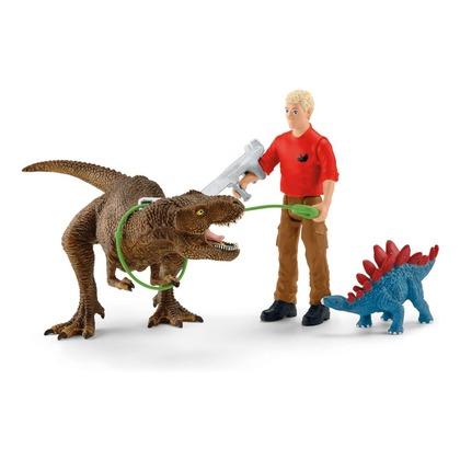 Атака тиранозавра рекса