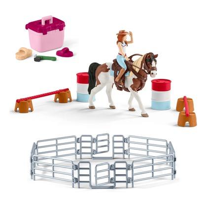 Наездница-ковбой + аксессуары для лошади