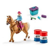 Девушка-ковбой с лошадью + аксессуары