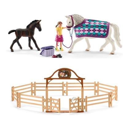 Уход за Липпицианской лошадью + загон
