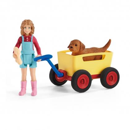 Повозка для щенков