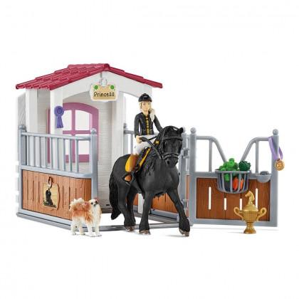 Загон для лошадей с Тори и Принцессой